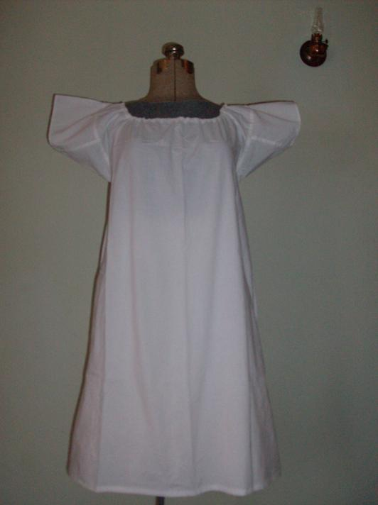 Mid 1700's to the Early 1800's Chemise,