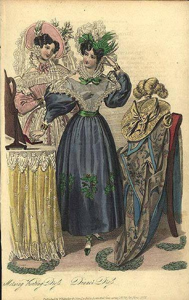 1830 S Day Dresses