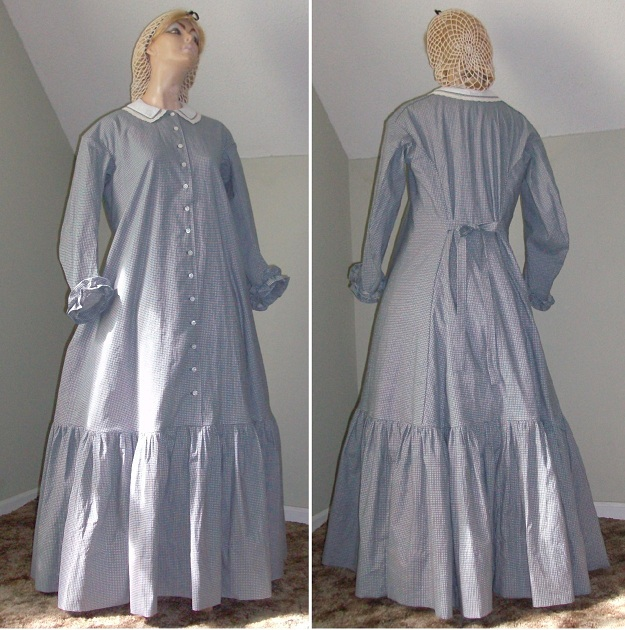 1860s Homestead Or Pioneer Dresses