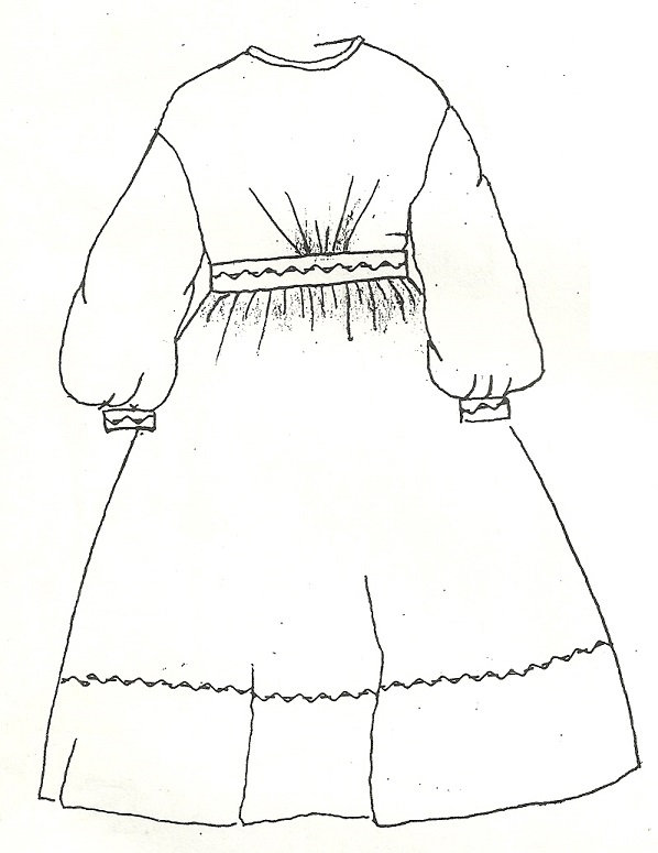 Mid-1800s Day/Play Dress