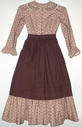 Girl's 1850's – 1860's Pioneer Dress