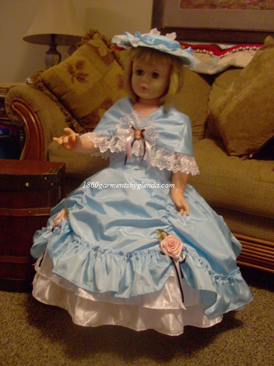 Ball Gown or Tea Dress for Girls Sizes 2-12 Girls, Great for pageants