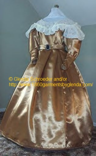 19 Century Civil War Southern Belle Gown evening Dress, Victorian glenda dresses, scarlett dress