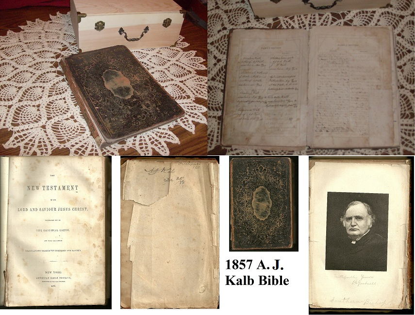 Absalom Kalb Bible Records