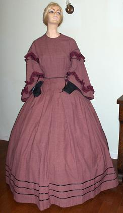 Civil War Era ladies dresses