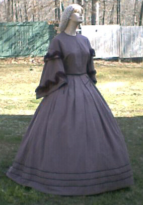 Ladies mid 1800's Dresses