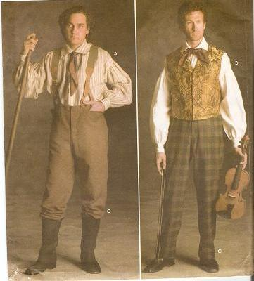 1800's Men & Boy's Clothing