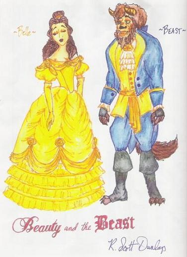 Dressing Beauty - Beauty and the Beast