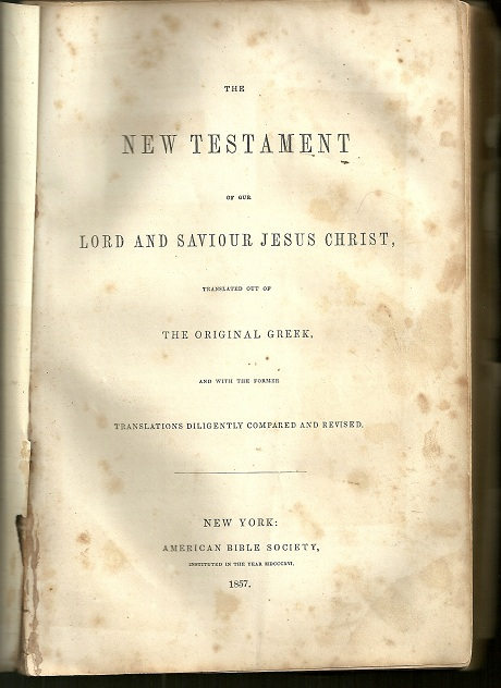 New York: American Bible Society, 1857